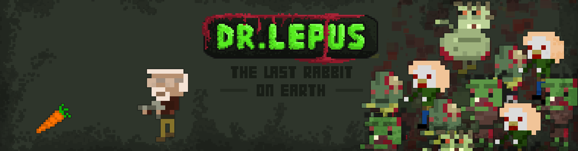 DR. LEPUS pixelart zombie shooter